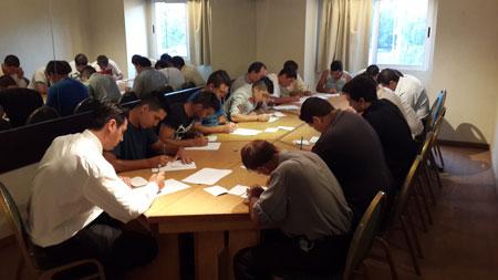 Entrenamiento de nuestro personal en resolución de conflictos, trabajo en equipo y evaluaciones teóricas